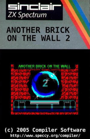 Another Brick On The Wall 2 cassette cover