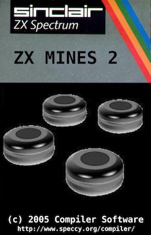 ZX Mines 2 cassette cover